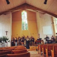 Photo taken at Ogres Trīsvienības Baptistu Draudze by Jānis B. on 7/11/2017