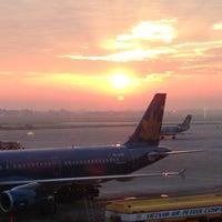 Photo taken at Noi Bai International Airport (HAN) by Ti N. on 6/11/2013