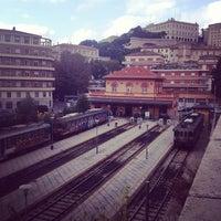 Photo taken at Stazione S. Anna FCU by Mauro P. on 10/29/2013