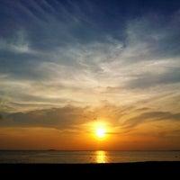 Photo taken at staff beach bar by DHAM ™ 🇲🇻 on 2/13/2014