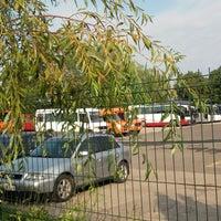 Photo taken at Dobeles autobusu parka birojs by Emīls Erlends Š. on 8/29/2018