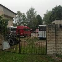 Photo taken at Dobeles autobusu parka birojs by Emīls Erlends Š. on 8/11/2018