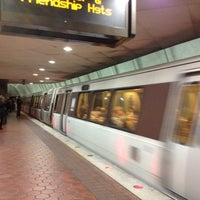 Photo taken at Woodley Park-Zoo/Adams Morgan Metro Station by Alesia C. on 10/20/2012