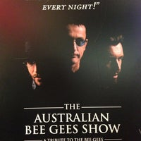 Photo taken at Australian Bee Gees Show by Cathy N. on 10/16/2012