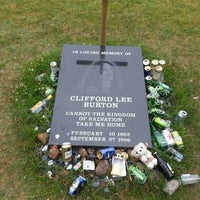 Photo taken at Cliff Burton Memory Stone by Guido M. on 7/12/2014