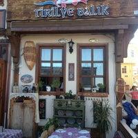 10/14/2012 tarihinde Cem T.ziyaretçi tarafından Tirilye Balık Restorant'de çekilen fotoğraf