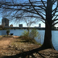 Photo taken at Lady Bird Lake Trail by Tiffany S. on 1/10/2013