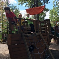 Photo taken at Pirate Ship @ Adventures On The Gorge by Nathan J. on 9/3/2016