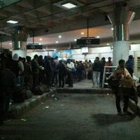 Photo taken at ISBT Kashmere Gate by Anurag B. on 1/10/2014