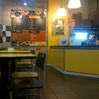 Photo taken at Yellow Cab Pizza Co. by Ian E. on 10/20/2012