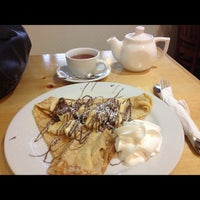 Photo taken at Crepes Cafe by Meileena B. on 12/2/2012