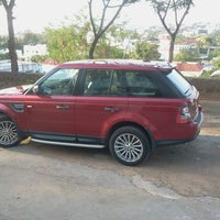 Photo taken at Land Rover show room by Siddhartha C. on 5/4/2013
