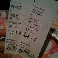 Photo taken at Regal Cinemas Fox Run 15 & RPX by Marieta Mandie S. on 11/4/2012