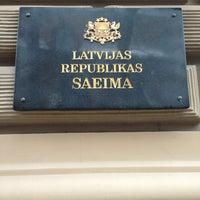 Photo taken at Latvijas Republikas Saeima  |  Saeima of the Republic of Latvia by JonVangelis on 2/16/2013