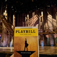 Photo taken at Hamilton: An American Musical by Weston R. on 7/18/2018