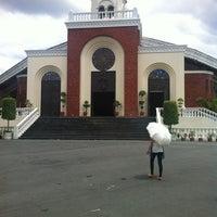 Photo taken at Santuario de San Vicente de Paul by Gab M. on 3/28/2013