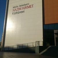 9/23/2012 tarihinde Emel M.ziyaretçi tarafından Nazım Hikmet Kültürevi'de çekilen fotoğraf