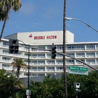 Photo taken at The Beverly Hilton by Jeff C. on 6/13/2013