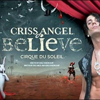 Photo taken at CRISS ANGEL Believe by Dina B. on 3/29/2013