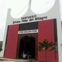 Photo taken at Santuario Divino Niño del Milagro by Giancarlo Sáπ©h€z @. on 2/8/2013