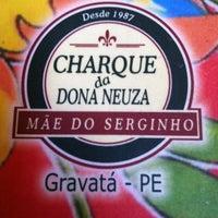 Photo taken at Charque da Dona Neuza by Maria Luisa G. on 9/30/2012