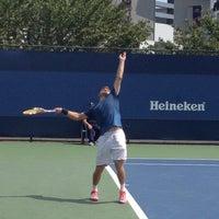 Photo taken at Court 12 - USTA Billie Jean King National Tennis Center by Tim M. on 8/29/2013
