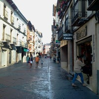 Photo taken at Calle Mayor by Marc G. on 7/11/2013