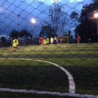 Photo taken at Planet Soccer Fut5 by Carito on 5/1/2013