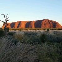 Photo taken at Uluru by Matze K. on 3/2/2017
