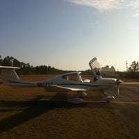 Photo taken at Ocean Springs Airport by Ben W. on 1/28/2013