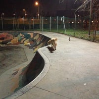 Photo taken at Skatepark - bowl by Maurizio A. on 1/4/2013