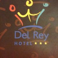 Photo taken at Hotel Del Rey Foz by Carla V. on 1/19/2013