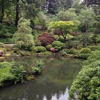 Photo taken at Portland Japanese Garden by Aber K. on 5/27/2013