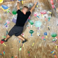 Photo taken at Red Barn Climbing Gym by Paul S. on 11/5/2015