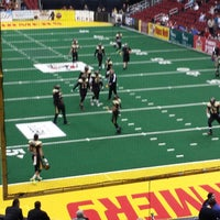 Photo taken at Iowa Barnstormers Game by Jasper E. on 4/19/2014