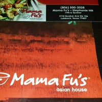 Photo taken at Mama Fu's Asian House by Adam M. on 11/1/2013