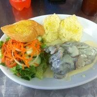 Photo taken at Fred's Café by Marlon I. on 12/21/2013