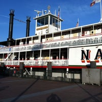 Photo taken at Steamboat Natchez by Teri M. on 2/27/2013
