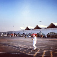 Photo taken at King Abdulaziz International Airport (JED) by Abdullah H. on 12/9/2012