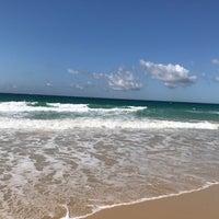 Photo taken at Playa de El Balneario by Cristina P. on 9/18/2017