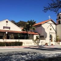 Photo taken at Mission San Buenaventura by Sean E. on 2/23/2013