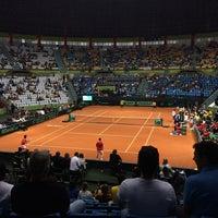 Photo taken at Copa Davis by Juliana A. on 9/13/2014