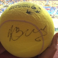 Photo taken at Copa Davis by Juliana A. on 9/12/2014