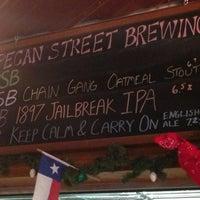 Photo taken at Pecan Street Brewing Co. by Clayton L. on 3/8/2013