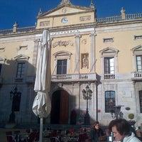 Photo taken at Plaça de la Font by David T. on 12/31/2012