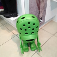 Photo taken at Crocs by Кирилл on 10/28/2012