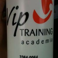 Photo taken at Academia Vip Training by Cristiane P. on 11/1/2013