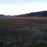 Photo taken at Sierra Hot Springs Resort & Retreat by Jason L. on 11/6/2013