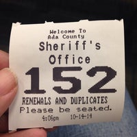 ... Photo taken at Ada County Department of Motor Vehicles by Dominique on 10/14/ ...