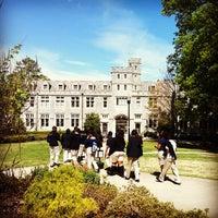 Photo taken at Oglethorpe University by Amanda R. on 4/18/2013